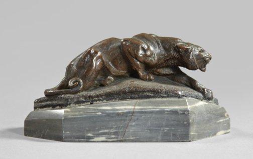 French Tiger Bronze