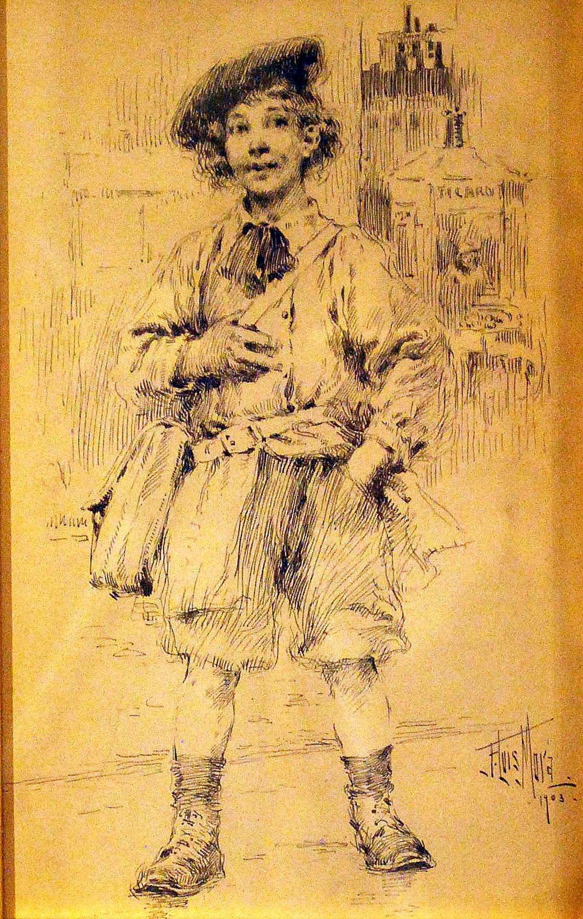 School Boy 1903