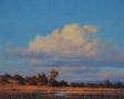 Turkey on the Tongue River, Motley County, 24x30