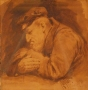 Study in Van Dyke Brown 1890